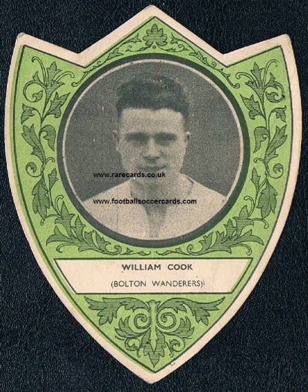 1932 Willie Cook Reading Dundee Bolton Forfar